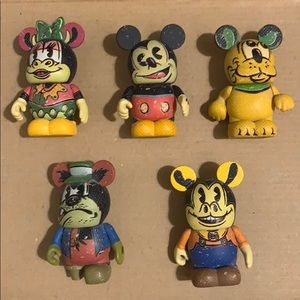 Disney's Vinylmation ink and paint series
